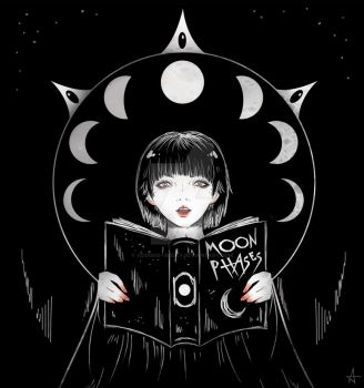 Moon Phases by Voodoo--Dolly
