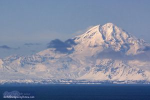 Mt Redoubt A Year Later by MSimpsonPhotos