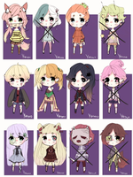 [OPEN 5/12] Adoptable pack (SET PRICE 2 USD) by Yasuo-tyan