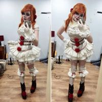 LOLITA PENNYWISE COSPLAY by JinxKittieCosplay