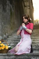 Aerith Cosplay - Final Fantasy VII by GiuliaZelda