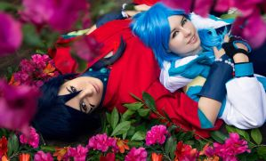 Aoba and Koujaku by SheenaWoodPhoto