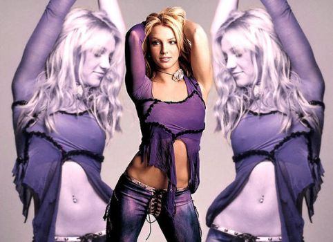 Purple Britney Blend by MissBuffySpears