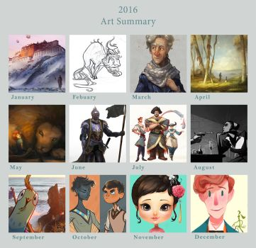 Art Summary 2016 by AngHuiQing