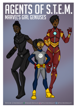 Agents of STEM - Marvel's Girl Geniuses by Femmes-Fatales