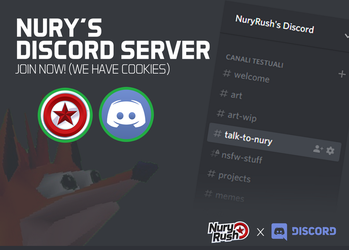 NuryRush's Discord Server by NuryRush