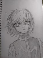 kurapika sketch by MauiCatgirl