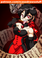 Vampire Miss Violet by rongs1234