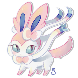 Sylveon Page Doll by thewrabbithole