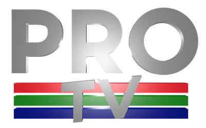 3D Logos No.1: ProTV (Made in Blender) by CubenRocks