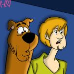 Shaggy And Scooby  by Trollan-gurl22