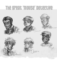 The Great Mouse Detective by m-t-copyright