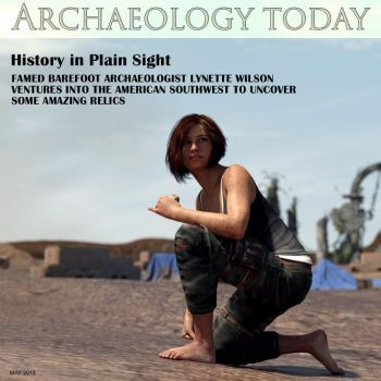 Archaeology Today (Lynette on cover) by restif