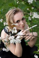 Paint The Blossoms White II by erebus-odora