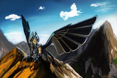 Sphinx of Solitude by Minionslayer