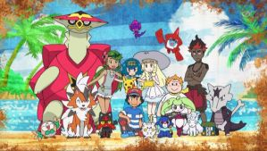Ash and His Alola Friends (Ending 2) by WillDynamo55