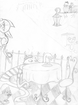 Collab- Time Weasel Party by NitrusOxide