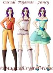 Kenina Outfits by MagicalCrystalWings