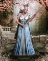 Lady Of Pembrook Pink by CalicoDesigns