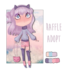 SOLD || RAFFLE || STRESSED PASTEL by BuurdAdopts