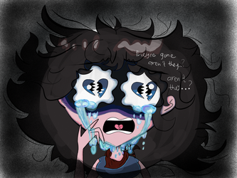 Crying girl... by Noturfavorite