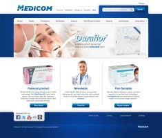 Medical web site by neverdying