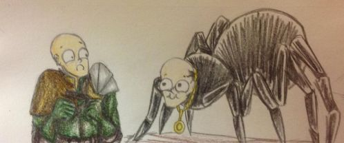 Human Patches meeting spider Patches by ILoveSomethings
