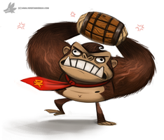Day 827. Donkey Kong by Cryptid-Creations