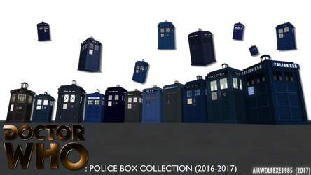 The Ultimate Tardis Collection by TheBritishTinDog