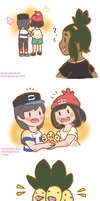 Hau's New Hair Tie by meopipopeo