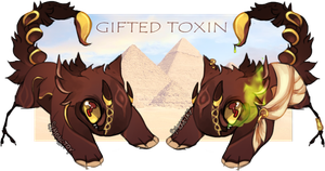 Gifted Toxin JR auction- CLOSED by Simonetry
