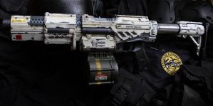 Nerf Alpha trooper Zombie Response by dog-green-1
