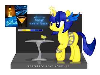 [OPEN] Auction - Fancy Party Goer by DreamerTheTimeLady