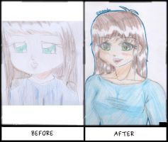 Before (2014) / After (2015) by Kiumii
