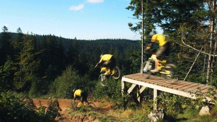 GIF - Mountainbike flow by turst67