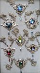 Crystal Fantasy Necklaces - Silver by blackcurrantjewelry
