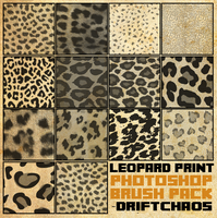Leopard Print Brush Pack [2013] by radroachmeat