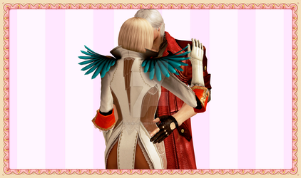 |A moment between us |[ +Dante and Gloria+ ] by gloria-sparda