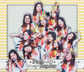 [PACK PNG #2] DAHYUN - TWICE by Ginq-qq