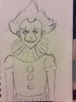 Anime Pennywise 2.0 by doctorwhooves253