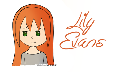 Lily Evans - Harry Potter Chibi by aranellenolwe