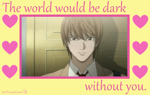 Death Note Valentine: A World Without Light by FrozenClaws