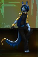 DMFA: Devin by 13blackdragons