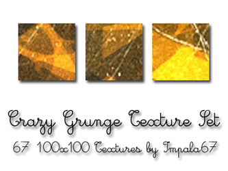Crazy Grunge Texture Set by impala67