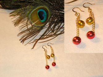 Jingle Jingle Bells Earrings by Healersmoon