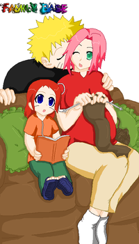 .:Uzumaki Family:. by Patsuko