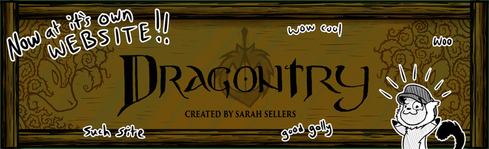 Website Announcement for Dragontry! by DragonwolfRooke