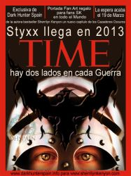 Fan Art: Styxx en la portada de la revista Time by Dark-Hunter-Spain