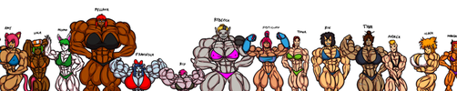 Lots of dA muscle babes by Ritualist