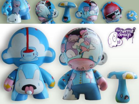 One for the munny - completed by thehermitdesign